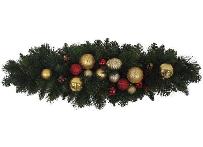 """J & J Seasonal CT-MBC-33U Christmas Traditions Mailbox Cover, 33"""" Long"""
