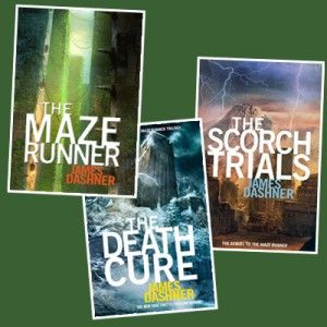 The Maze Runner book series similar to hunger games loved them