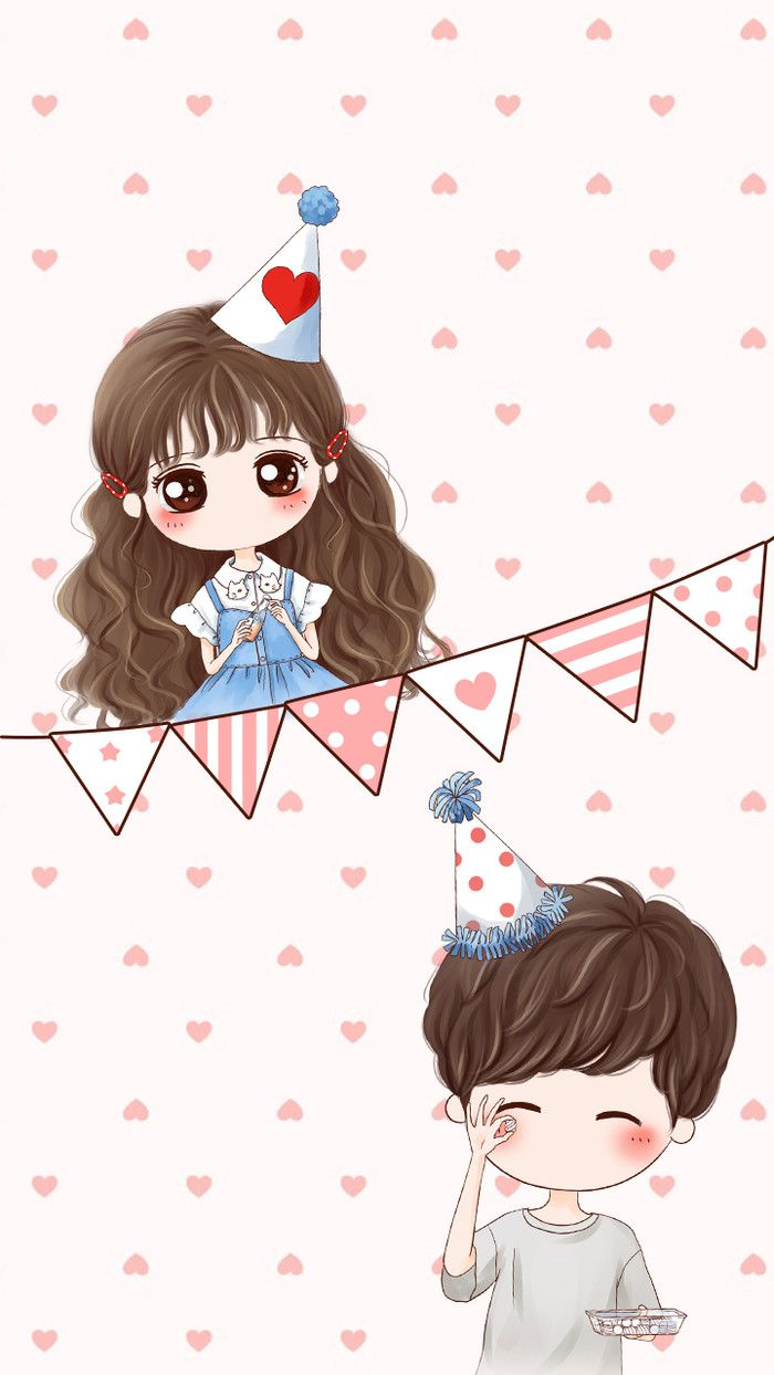 145 best images on pinterest chibi drawings - Cute anime couple wallpaper ...