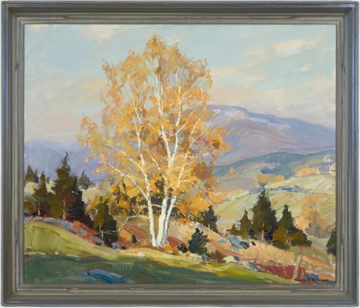 Mt. Mansfield, Autumn by Emile Albert Gruppe