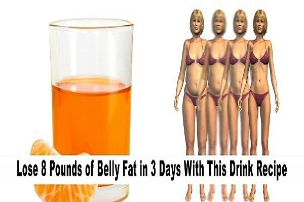 Try This Drink And Lose 8 Pounds Belly Fat In Just 3 Days!!!