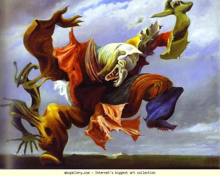 Max Ernst- L'Ange du Foyer