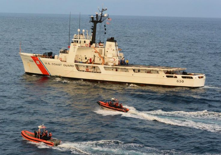 US Coast Guard Cutter Alert returned to Astoria on 2 Nov 2014 following counter-drug patrol in eastern Pacific off coast of South & Central America.Alert successfully conducted 70-day patrol traveling over 12,600 miles scouring eastern Pacific for illicit traffickers using their 2 small boats & armed helicopter from Coast Guard Helicopter Interdiction Tactical Squadron from Jacksonville,Florida.These efforts resulted in successful interdiction of more than 3,180 pounds of cocaine.