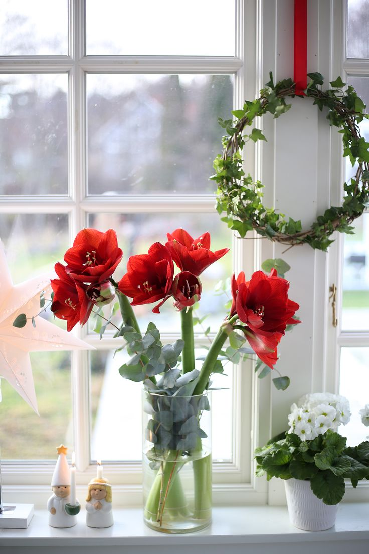Vackra Decemberbuketten hemma hos Hanna Wendelbo