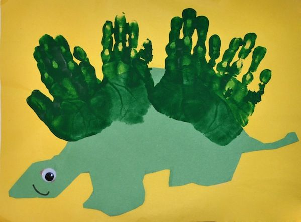 Messy crafty fun crafts cut and paste and dinosaurs for Dinosaur crafts for toddlers