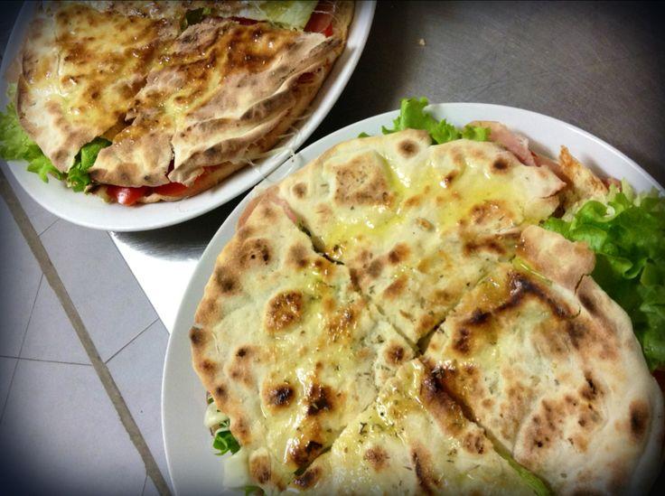 PANE ARABO # pane arabo # filled flatbread # focaccia # prosciutto crudo # fuorirotta # forte dei marmi # versilia # toscana