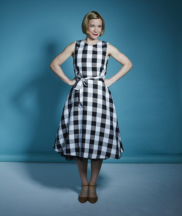 Chief curator of Historic Royal Palaces Lucy Worsley (above), 43, lives in London with her husband Mark Hines