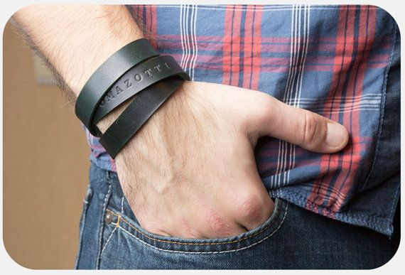 Hey, I found this really awesome Etsy listing at https://www.etsy.com/listing/174712612/personalized-leather-bracelet-men
