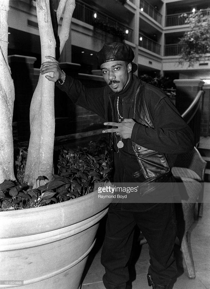 Singer Ralph Tresvant of New Edition, poses for photos at the Embassy Suites Hotel in Chicago, Illinois in JANUARY
