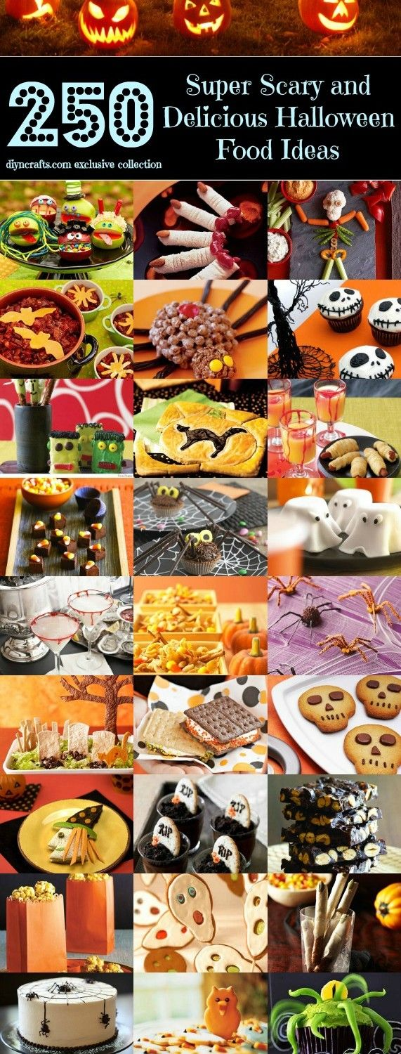Top 250 Scariest and Most Delicious Halloween Food Ideas – Page...