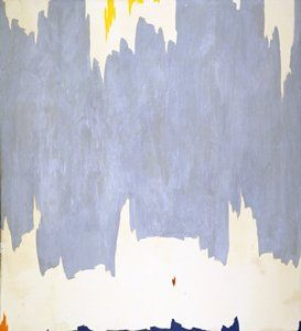 Clyfford Still-American   Untitled 1959  Painting | oil on canvas