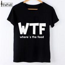 Moda 2016 Ocasional T Shirt T-shirt harajuku Mulheres Encabeça Curto manga Camiseta Femme tumblr wtf Carta Imprimir Magro Preto Tshirt(China (Mainland))