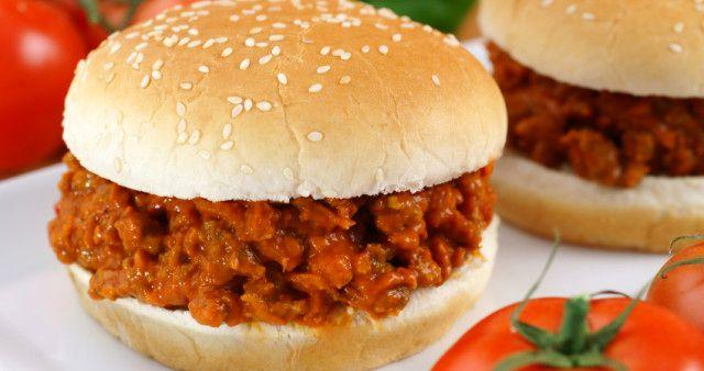 Гамбургер с фаршем | Кулинарный Рай