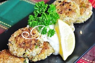 Scarsdale Diet Recipes: Canned Tuna Cakes