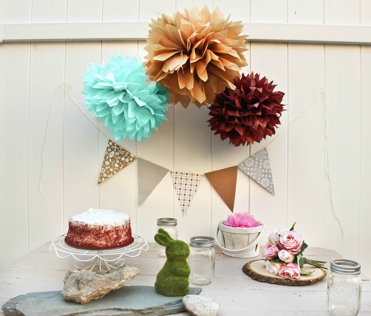 17 Best Images About Tissue Pom Poms On Pinterest Tissue