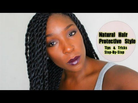 ▶ PROTECTIVE STYLE FOR HAIR GROWTH RETENTION: Senegalese, Havana, Marley Twist…