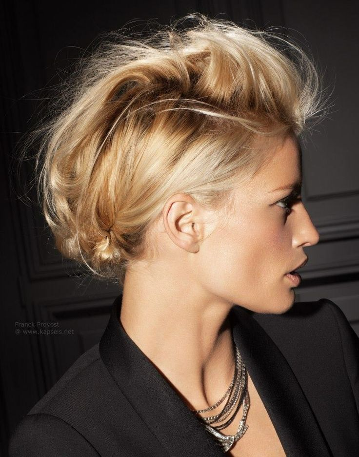Effortlessly edgy!  - #repin #love #inspiration #weddinghair #gorgeous #edgybride loved by// mghairandmakeup.com