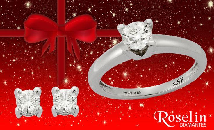 Brilla esta Navidad como un diamante.