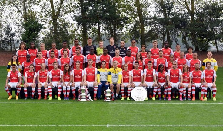 Full 2014 Arsenal squad