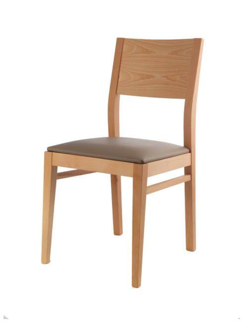 madera de roble sillas