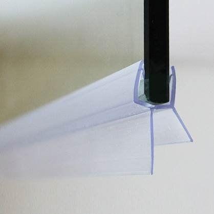 HomemateTM Anti-Fungal Shower Door Seal - 1 Meter long - Seals gaps between your shower screen & prevents fungus build-up