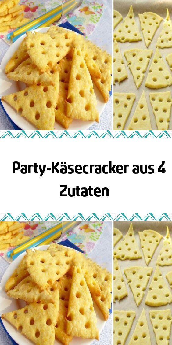 Party-Käsecracker aus 4 Zutaten