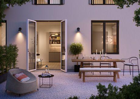 Oscar Properties : Biografen #oscarproperties city - garden - facade - windows