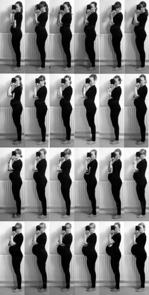 Good pregnancy progression photos, 'Cause that's what happens, don't need to be told!!!!