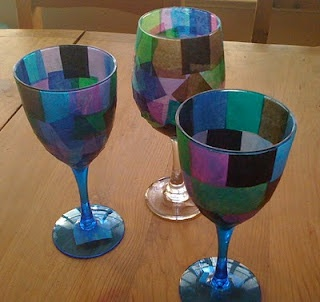 Last Supper cup mosaic craft