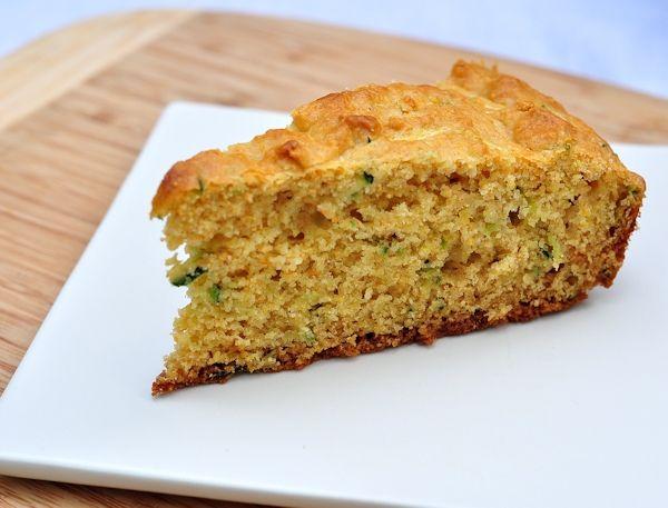 Sweet Zucchini Cornbread by thecreeksidecook #Cornbread #Zucchini