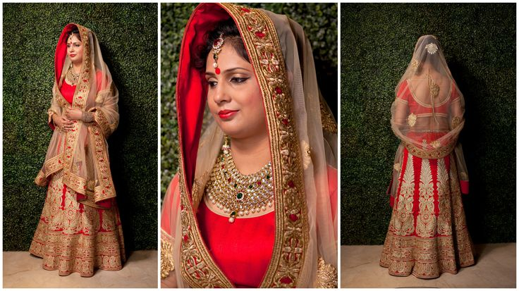 Indian Bridal Diaries...!!  The Indian wedding's are all about beautiful clothes, loads of jewellery and celebration. The traditional rasams are simply never ending. Indian Bridal wears are oozing with grandeur and elegance. Be one of the most gorgeous royal bride of this season wearing this Red Bridal Lehenga and steal the look. There is something magical about the Design and Craftsmanship put into making this attire perfect for the Big Fat Indian Wedding. ‪#‎BigFatIndianWedding‬