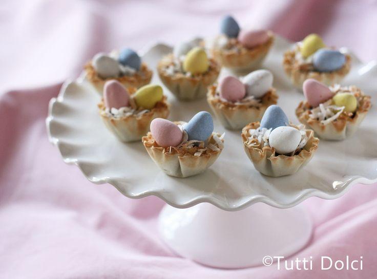Cadbury Easter Egg Phyllo Cups