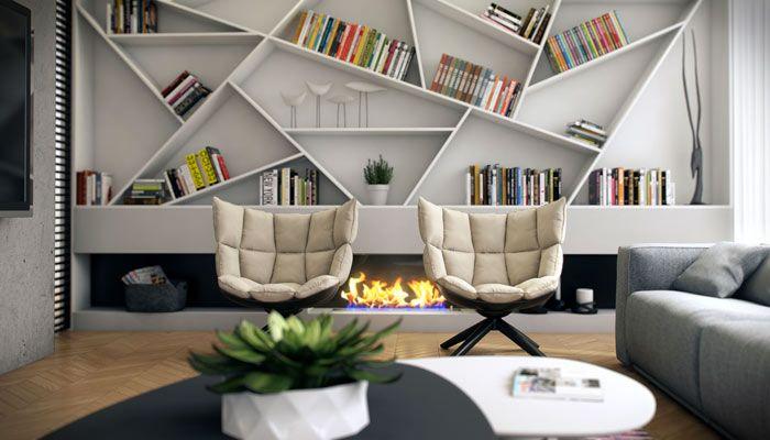 Oltre 20 migliori idee su librerie su pinterest librerie a parete librerie fai da te e - Librerie di design per casa ...