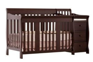 STORK CRAFT PORTOFINO 4-IN-1 CONVERTIBLE CRIB AND CHANGER #baby cribs for sale…