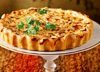 Συνταγή της ημέρας: Τάρτα με μπέικον, τυρί και πράσα (Μαμαλάκης)