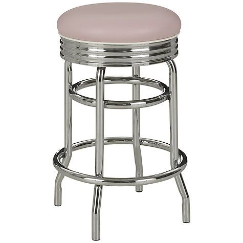 Retro Rose Pink Kitchen Stools by  Cola Red Liberty Stools, £249