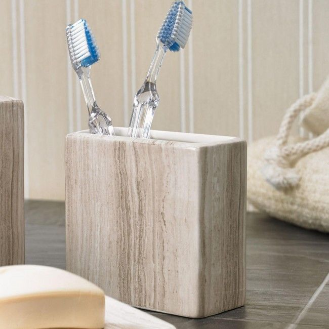 Bring some style to your bathroom accessories with Moda At Home bathroom accessories.