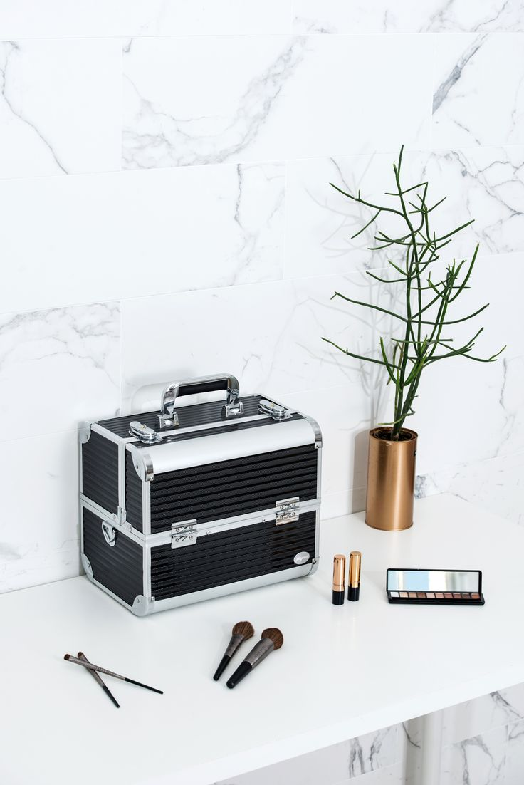 Black Stripe Professional Makeup Train Case with Detachable Trays Travel makeup case with mirror Artis makeup case Makeup vanity with storage Makeup organizer with mirror Best makeup case Big makeup case Cheap makeup organizer Cosmetic train case Makeup case with brush holder Makeup organizer with drawers Makeup case with lock Makeup artist train case Portable makeup case