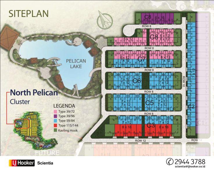 SITE PLAN - North Pelican @ Serpong Lagoon