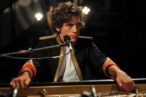 Mika at Abbey Road studios 2009
