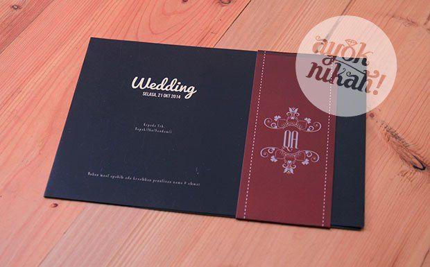 Undangan pernikahan yang unik,bagus, standar dan mewah.