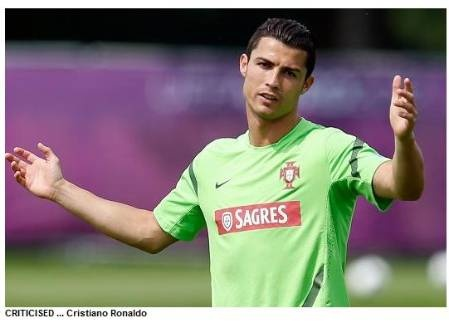 """BARCELONA president Sandro Rosell has risked the wrath of Cristiano Ronaldo by calling the Real Madrid star """"the 12th best player in the world."""""""