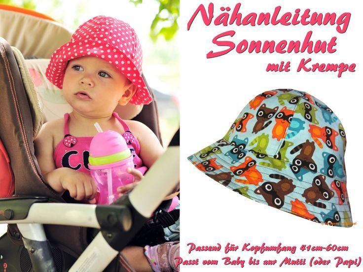Schnittmuster Sommerhut, Sonnenhut nähen Baby Accessories Check more at http://www.newbornbabystuff.com/schnittmuster-sommerhut-sonnenhut-nahen-baby-accessories/