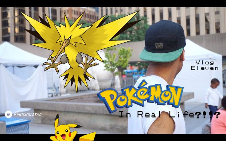 POKEMON IN REAL LIFE?!?? | Vlog #11