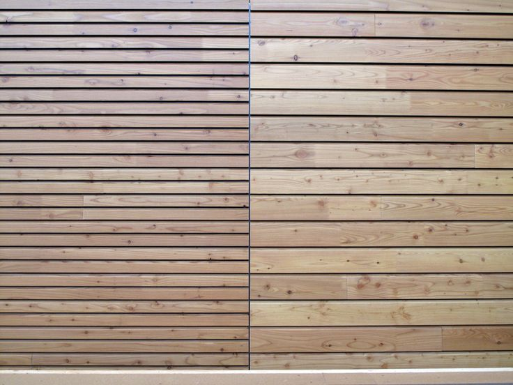 Panel de madera para fachada openlam by simonin textura - Paneles de madera para exterior ...