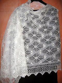inspiration Lace Knit Shawl Sallihullu Päevaraamat