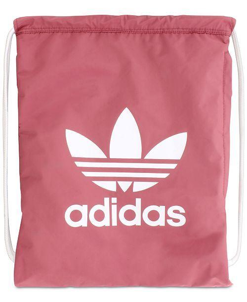 c1d5563b908e Trefoil Sackpack | Bags | Adidas, Adidas originals, Adidas logo