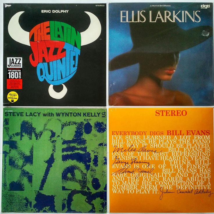 |i| Eric Dolphy & The Latin Jazz Quintet – The Latin Jazz Quintet (M/NM) – 645 грн.  Ellis Larkins – Ellis Larkins (NM/NM)  – 345 грн.  Steve Lacy with Wynton Kelly – Soprano Today  (VG+/NM)  – 595 грн.  Bill Evans Trio – Everybody Digs Bill Evans  (M/NM)  – 645 грн. #newindiskultura #diskultura #TrueVinylRecordsStore #kyiv #kiev #киев #київ #kyivshop #vinyl #винил #пластинки   #EricDolphy #TheLatinJazzQuintet #LatinJazz #EllisLarkins #Bop #SteveLacy #WyntonKelly#PostBop…