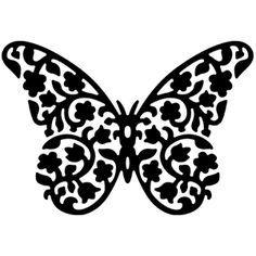 Floral Butterfly Die