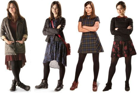 Of all the companions, I covet her clothes the most. | Cosplaying Clara and the Oswinettes #comiccon #sdcc #DoctorWho